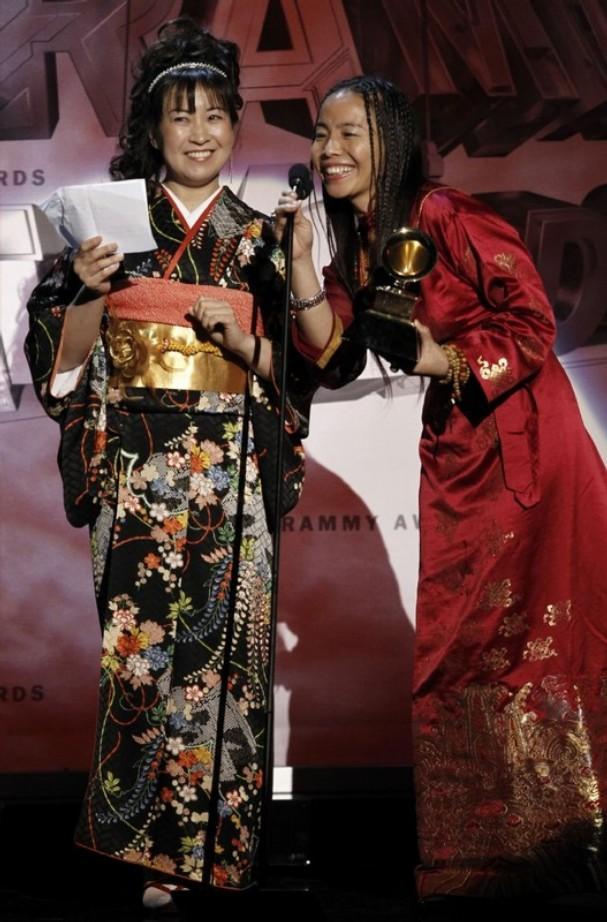 Yangjin Lamu and Yukiko Matsuyama