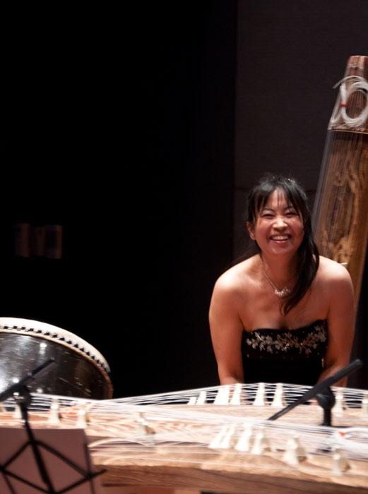 Yukiko Matsuyama after Taiko Solo