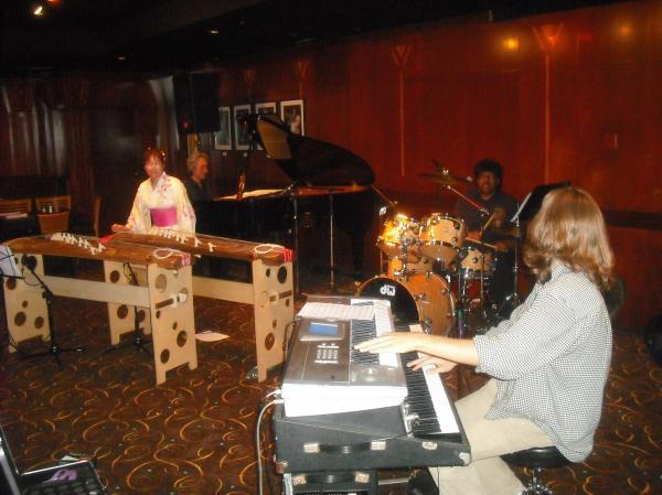 Yukiko Matsuyama playing at the Culver Club with Austin Peralta, James Gadson, Tadashi Namba, and Tom Kurai