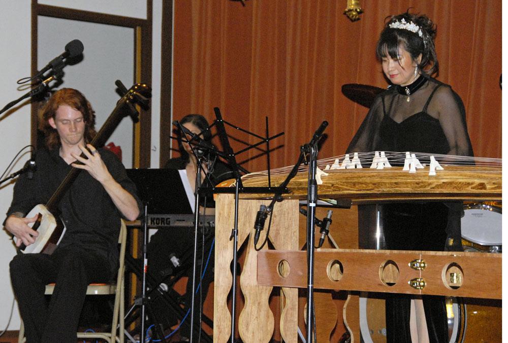 Mike Penny - shamisen, Diana Dentino & Yukiko Matsuyama