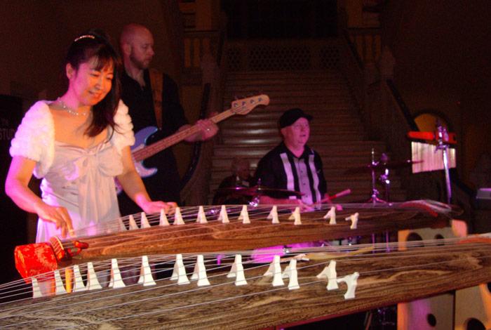 Yukiko Matsuyama, Vince van Trigt, Voyce McGinley III