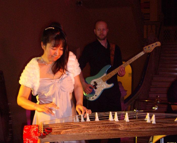 Yukiko Matsuyama and Vince van Trigt