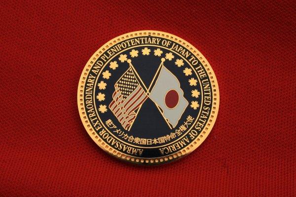 Koto Musician Yukiko Matsuyama receives medal from Ambassador Ichiro Fujisaki