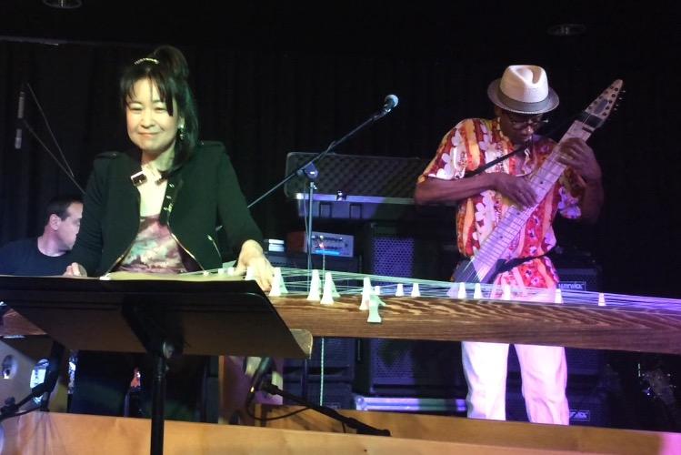 Alphonso Johnson and Yukiko Matsuyama
